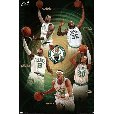 Celtics Team Poster