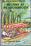 Bobbsey Twins 00: Mystery at Meadowbrook (0448080079) by Hope, Laura Lee