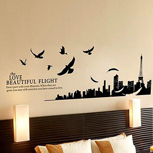 Prezzo 6 50 - Stencil parete camera da letto ...