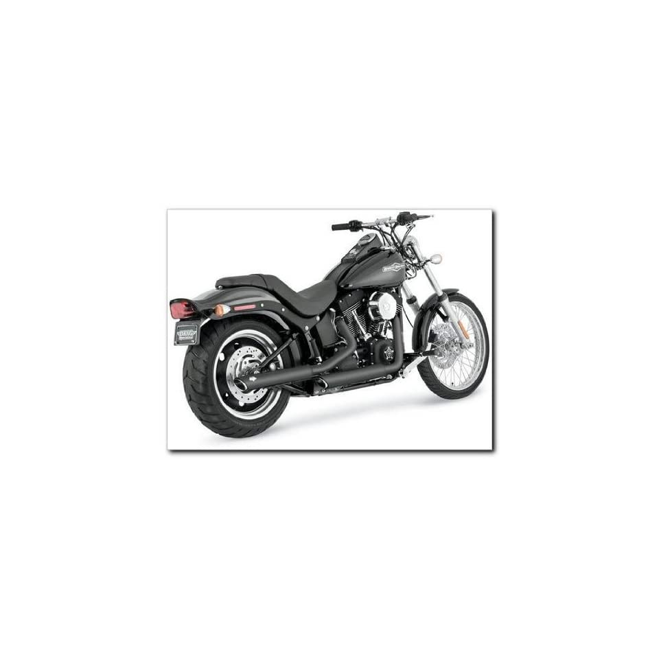 Vance and Hines 46835 Twin Slash 3 Slip On Muffler for