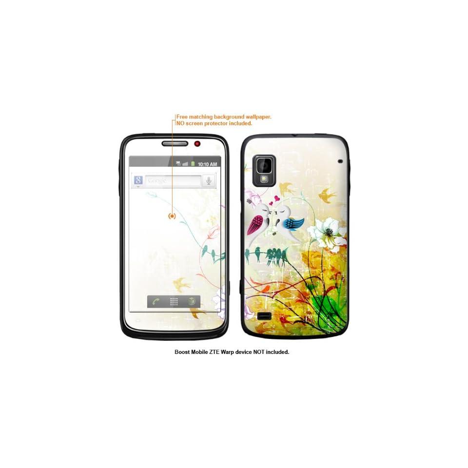 Protective Decal Skin Sticker for ZTE Warp  Boost Mobile version  case cover ZTEwarp 44