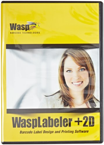 Wasp 633808105266 Wasplabeler +2D Barcode Label Design Software