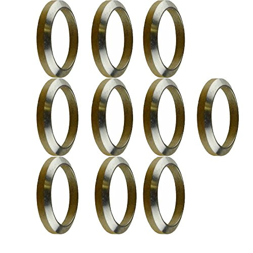 TacBro - AR 308 Crush Washer Stainless Steel 10 pieces (Ar 10 Crush Washer compare prices)
