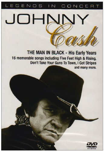 Johnny Cash - the Man in Black - His Early Years [DVD]