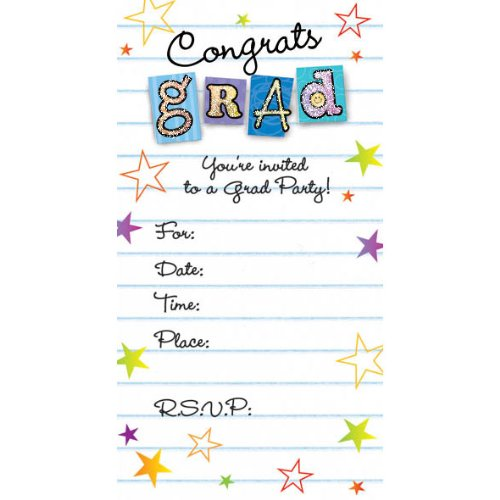 Graduation Party Invitations - 1