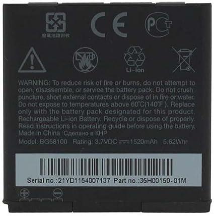 HTC BG58100 35H00150-01M Battery