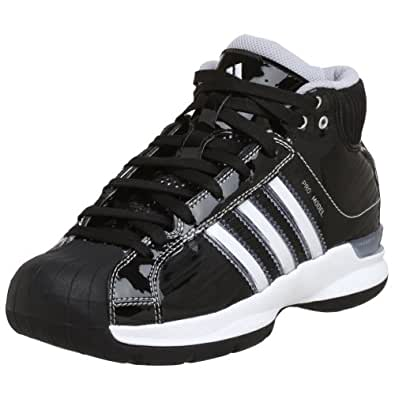 Mens Adidas Pro Model Black Basketball Shoe Size