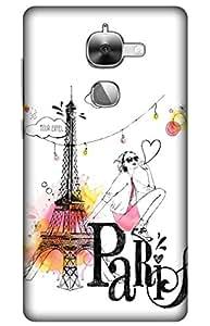 iessential paris Designer Printed Back Case Cover for LeEco Le Max2
