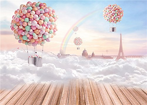 Qian Photo Studio Baby Background Props 7x5ft Children Photography Rainbow Backdrops qx03 (Photography Props For Kids compare prices)