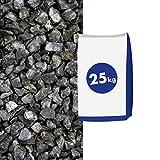 Basaltsplitt Anthrazit 5-8 mm 25 kg Sack