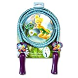 Fairies Deluxe Jump Rope with Shaped Handles in 3d Blister