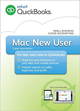 QuickBooks Mac 2016 New User Small Business Accounting Software