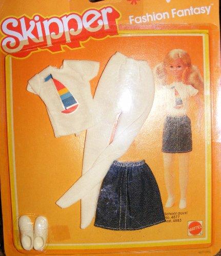 Skipper Doll Fashion Fantasy School Days #4877