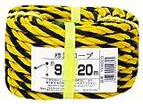 ユタカメイク 標識ロープ YEB920 9mm×20M