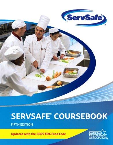 ServSafe CourseBook with Online Exam Voucher 5th Edition,...