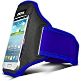 Blue Case for Samsung Galaxy S5 (i9600) S4 (i9500) S3 (i9300) Running Armband Cover Case Holder Band for Sport | by iChoose®