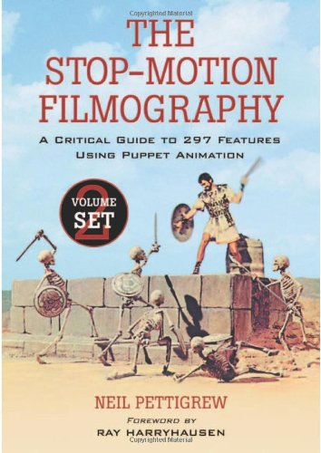 The Stop-Motion Filmography: A Critical Guide To 297 Features Using Puppet Animation 2-Volume Set front-840863