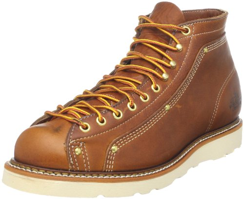 Thorogood Men's Lace-To-Toe Roofer Work Boot,Tobacco,13 D US