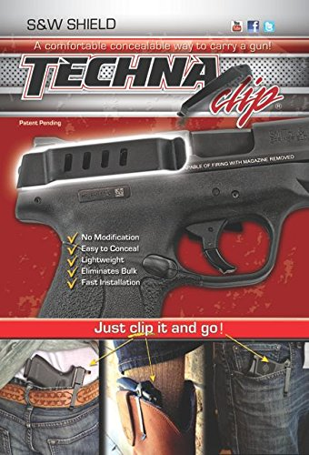 Fantastic Deal! Techna Clip Gun Belt Clip - Smith & Wesson SHIELD - Right Side