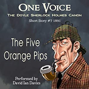 The Five Orange Pips Audiobook