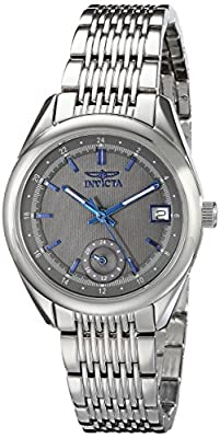 Invicta Women's 18063 Specialty Analog Display Swiss Quartz Silver Watch