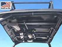 Great Day UTV Quick-Draw Overhead Gun Rack. Holds Two Guns. Made in USA. Select from Models Below. Measure Roof From Front to Back. QD85XOGR