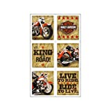 Image of Harley Davidson Stickers (4 sheets)