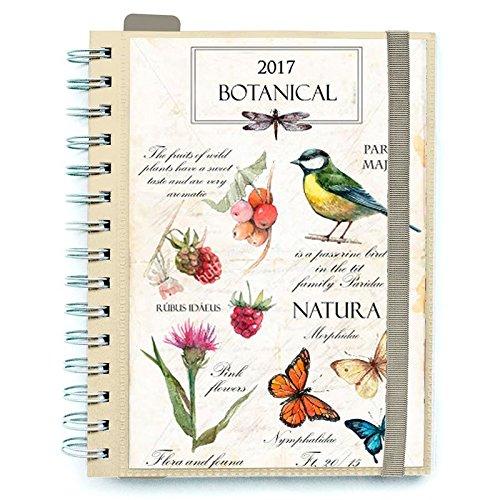 Agenda 2017 Botanical banda elastica