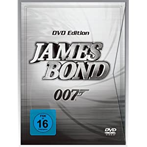 James Bond 007 DVD Edition - 22 DVDs für nur 89 Euro