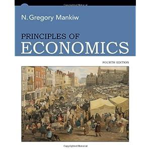 OF PRINCIPLES GREGORY MANKIW ECONOMICS