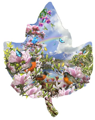 Signs of Spring a 1000-Piece Jigsaw Puzzle by Sunsout Inc.