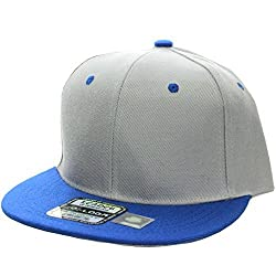 L.O.G.A. Plain Adjustable Snapback Hats Caps