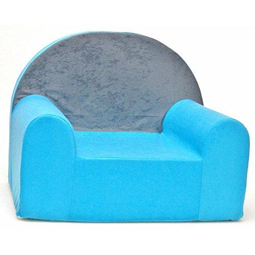 Fauteuil enfant meuble mod le b bleu clair b1 - Amazon fauteuil enfant ...