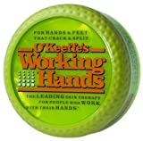 6 Pack OKeefes 3500 Working Hands Hand Creme 3.4-oz Grip Pak