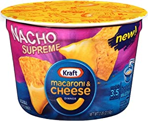 Kraft Easy Mac Cups, Nacho Supreme, 2.05 Ounce (Pack of 10)