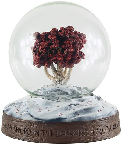 Dark Horse Deluxe Game of Thrones Weirwood Snow Globe