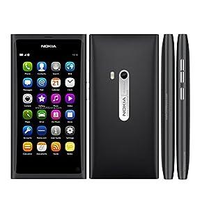 Nokia N9 Unlocked GSM Phone with 64 GB Internal Memory--International Version (Black)