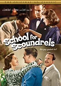 """Cover of """"School for Scoundrels"""""""