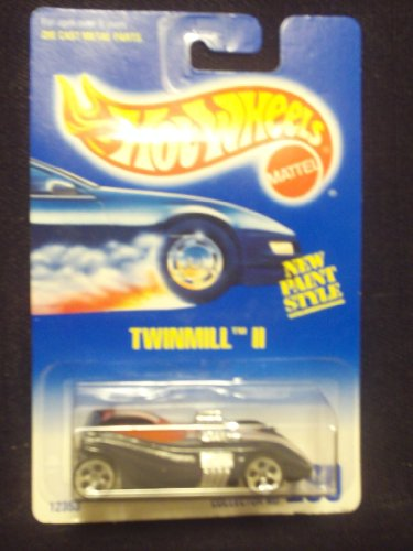 Hot Wheels Twinmill II #260 alw-5dot with Red Window/Orange and white stripe on roof and hood RARE - 1