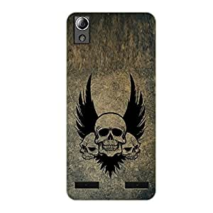 Vibhar printed case back cover for Lenovo A6000 Plus GrungeWing