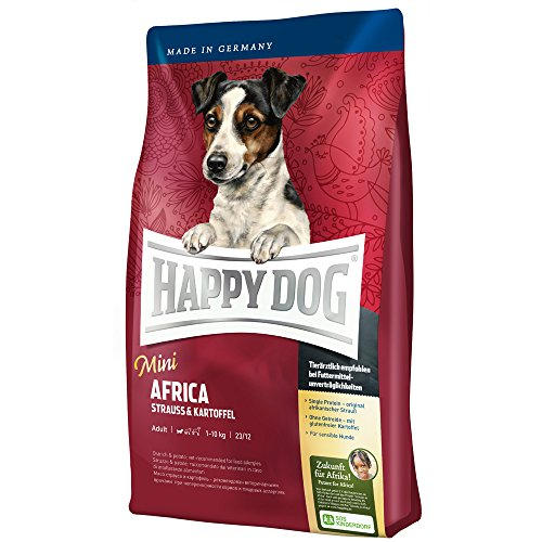 Happy Dog Supreme Mini Africa, 4 kg, 1er Pack (1 x 4 kg)