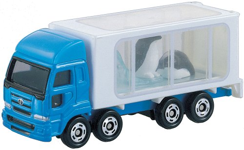Takara Tomy Tomica #047 Animal Carrier (Penguin)