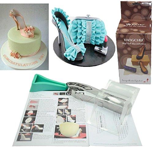 Cake Decorating Kit Fondant : TANGCHU 3D High-heeled Shoes Kit Set Cake Decorating ...