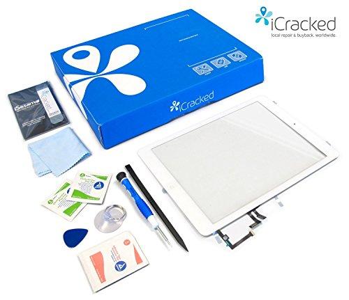 Schermo di ricambio e Kit di riparazione di qualità superiore per iPad 2- Blanco
