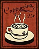 Retro Coffee III by Harbick, N- Fine Art Print on CANVAS : 22 x 27 Inches