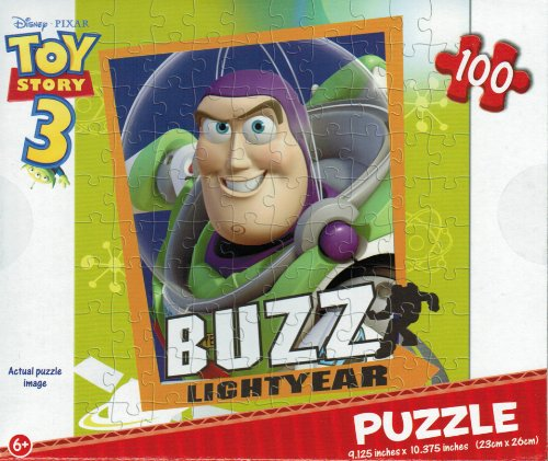 "Cheap Greenbrier International Disney's Toy Story ""Buzz Lightyear"" 100 Piece Jig-saw Puzzle (B003NMJ7EW)"