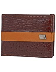 MC MARCCHANTAL Brown Men's Leather Wallet - B00SN8ZQJG