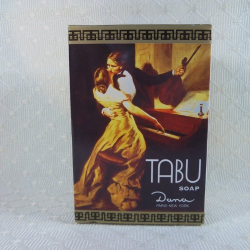 Tabu Soap Dana Classic 50 Years Forbidden Fragrance 3.17 Oz (90 Gm) Ships From Thailand front-479584