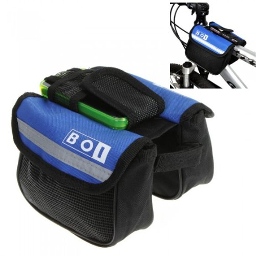 Bicycle Bike Cycling Sport Frame Front Tube Double Side Bag by AHMET