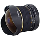 Rokinon FE8M-C 8mm F3.5 Fisheye Fixed Lens for Canon - Black